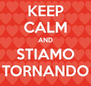 STIAMO TORNANDO! – SERVIZI DIGITALI SEMPRE ATTIVI – #NONVILASCIAMOSOLI