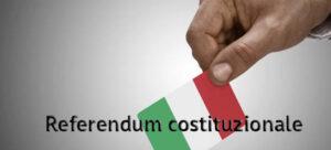 Referendum costituzionale del 20 e 21 settembre 2020. Scadenza per elettori residenti all'estero.