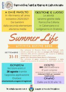 Summer Life! Attività estive 2020